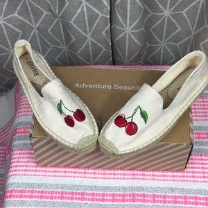 BNIB Soludos Espadrilles - Cherries!